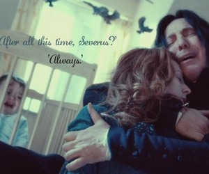 harry potter, always, and severus image