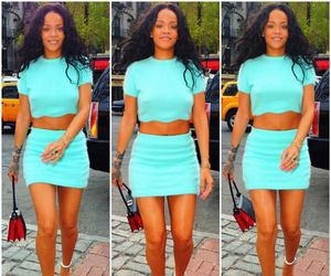 rihanna, fashion, and navy image