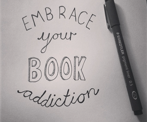 book and addiction image
