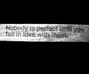 love, perfect, and quote image