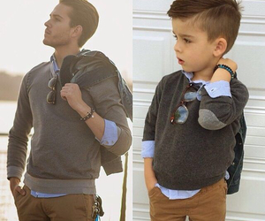 boy, style, and baby image