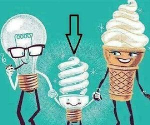 funny, ice cream, and ♥♡♥ image