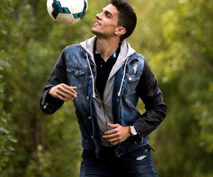 football, fc barcelona, and marc bartra image