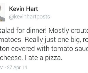 twitter, kevin hart, and food image