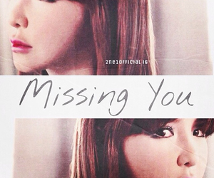 2ne1, beauty, and missing you image