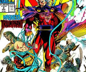 comic, magneto, and mutants image