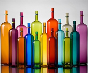 bottles and colors image