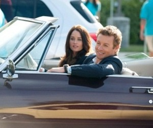 the mentalist, robin tunney, and patrick jane image