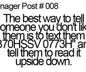 teenager post, funny, and text image