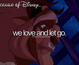 disney, beauty and the beast, and because of disney image