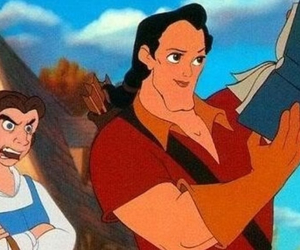belle, disney, and funny image