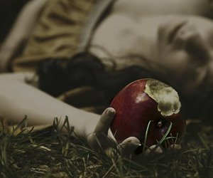 apple, fairy tale, and snow white image