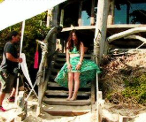 beach, lucy hale, and photo shoot image