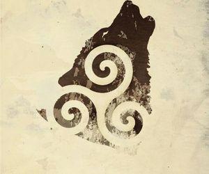 derek, wolf, and werewolf image