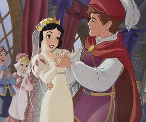 danse, disney, and blanche-neige image