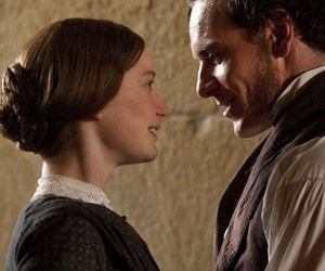 jane eyre, Mia Wasikowska, and michael fassbender image