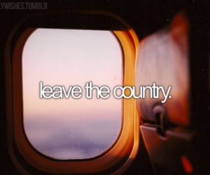 leave, country, and travel image