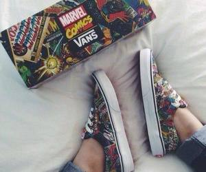 comics, shoes, and love image