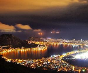 beach, copacabana, and beautiful image