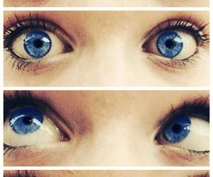 blue, girls, and eyes image