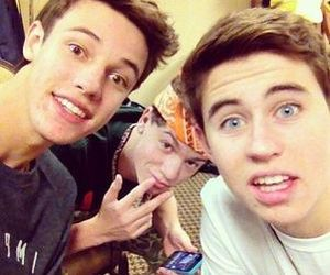 nash grier, cameron dallas, and taylor caniff image