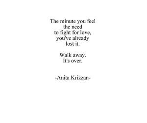 love, quote, and sad image