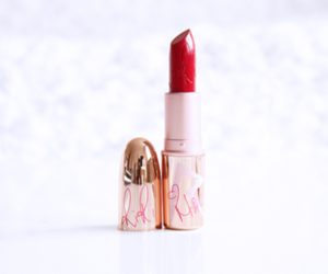 lipstick, red, and girly image