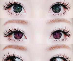 eyes, kawaii, and make up image