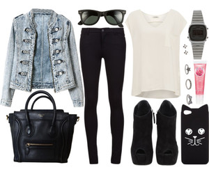 fashion, black, and hipster image