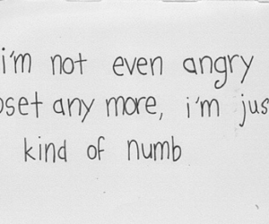 angry, done, and NUMB image