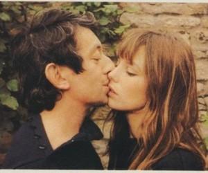 jane birkin, serge gainsbourg, and kiss image