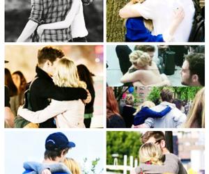 couple, hugs, and stonefield image