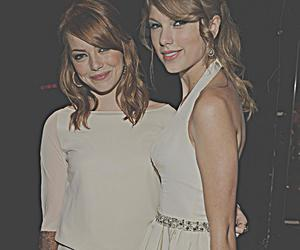 emma stone, Taylor Swift, and hair image