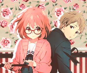 anime, love, and kyoukai no kanata image