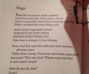 magic, book, and quotes image
