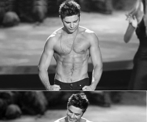 zac efron, shirtless, and Hot image