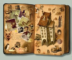 book, georgian, and illustration image