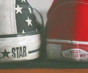 vans, converse, and shoes image