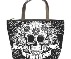 day of the dead, dia de los muertos, and hand bag image