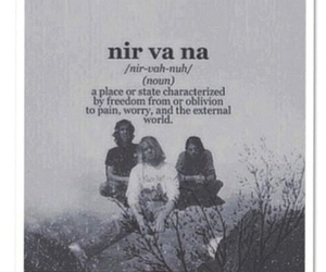 nirvana, band, and kurt cobain image