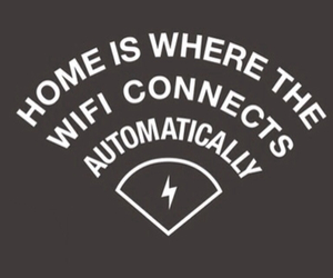 wifi, funny, and home image