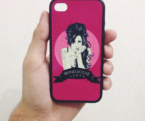 Amy Winehouse, vintage, and apple image