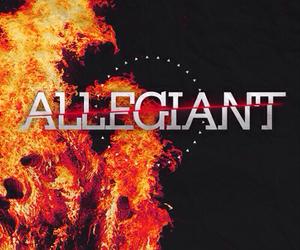 allegiant, divergent, and insurgent image