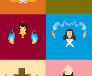 air, water, and avatar the last airbender image