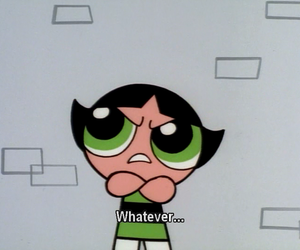 whatever, buttercup, and green image