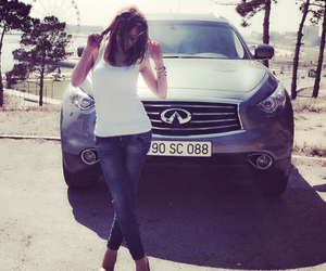 car, jeans, and shoes image