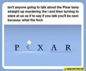 funny, pixar, and disney image