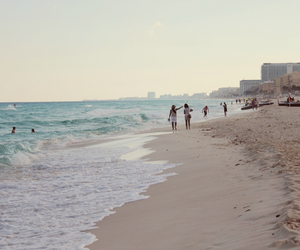 beach, cancun, and holiday image