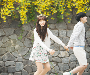 couple, ulzzang, and ulzzang girl image