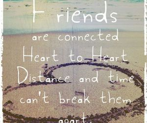 friends, heart, and quotes image